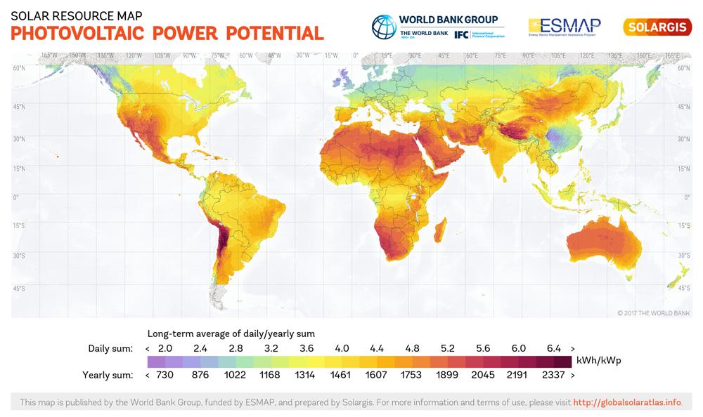Solar Panels Technology Harvesting Power From Sunshine